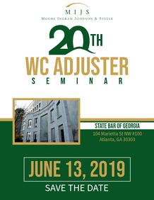 20th Flyer Seminar