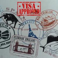 21 Immigration/Visa โพสต์บน Instagram template