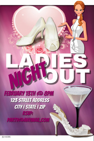 Valentine's Ladies Night Out Template