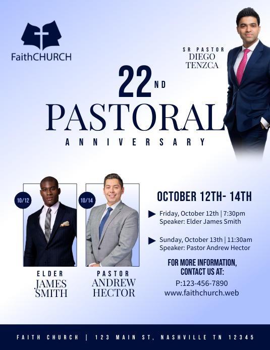 22nd Pastoral Anniversary