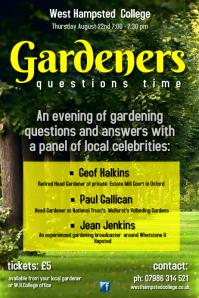 Gardeners Poster