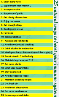 25 Ways to Boost Immune System Template Legal AS