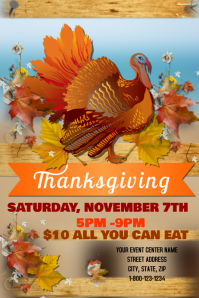 Thanksgiving Event Template