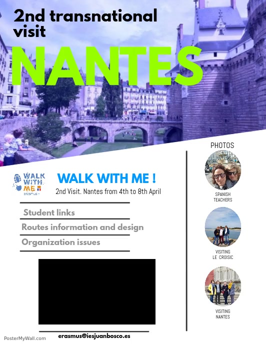 WALK WITH ME!  - 2ND TRANSNATIONAL VISIT