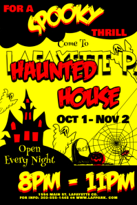 Vintage Haunted House