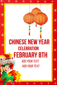 Chinese New Years Event Template