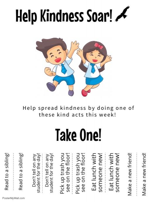 The Kindness Challenge Flyer 4