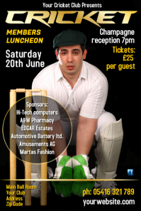 Cricket Members Luncheon