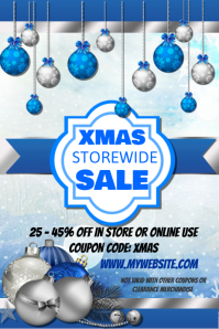 Christmas Storewide Sales Event Template