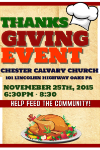 THANKSGIVING/CHARITY