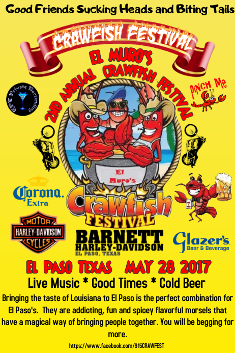2nd annual crawfish fest