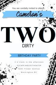 2nd Birthday Invitation