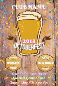 30 Octoberfest Flyers