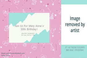 30th Birthday Video Template