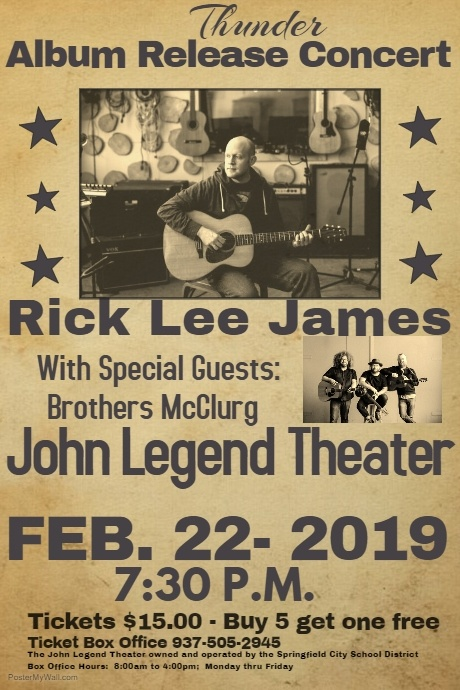 Rick Lee James & Brothers McClurg