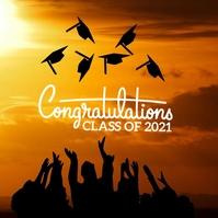 32 Graduation Publicación de Instagram template