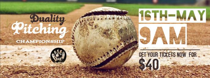 Baseball Facebook Cover Template