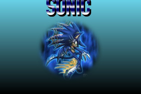 SONIC Poster template