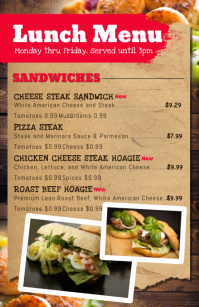 180 customizable design templates for lunch postermywall