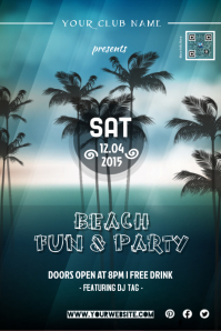 Beach party - PosterMyWall