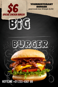 Big Burger Flyer