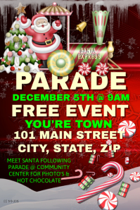 Christmas Parade Event Template