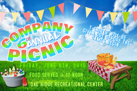 Family Reunion Park Outdoor Community Company Picnic Lunch Buffet Barbecue Summer Food