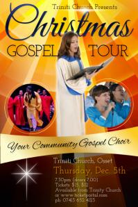 Christmas Gospel Tour Poster