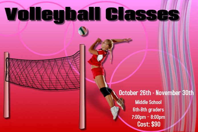 Volleyball classes