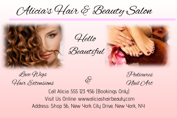 Alicia's Hair & Beauty Salon