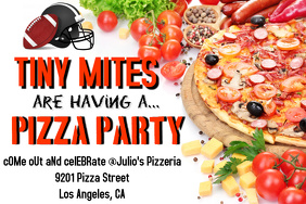 Football Pizza Party
