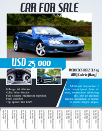 Car For Sale Flyer Template | 8 920 Customizable Design Templates For Car For Sale Postermywall