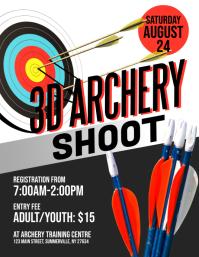 3D Archery Shoot Flyer