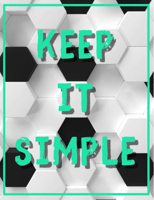 keep it simple 3d background