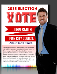 3D Campaign poster
