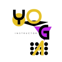 3D Yoga Shapes Logo Design template