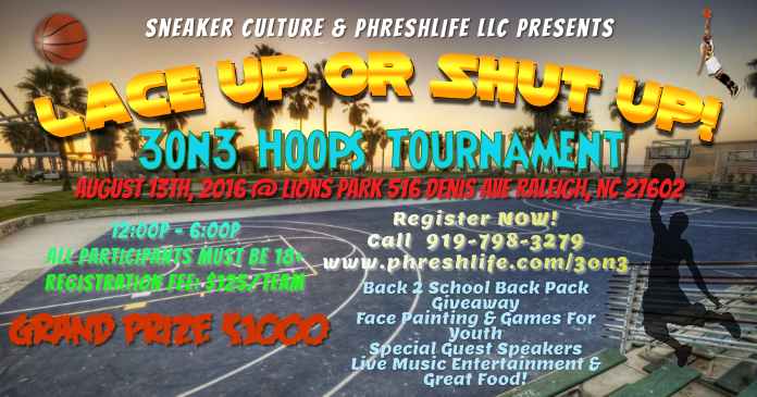 3on3 Basketball Tournament Template Postermywall