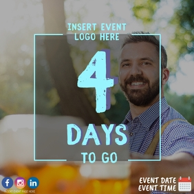 4 Days to Oktoberfest Event Countdown