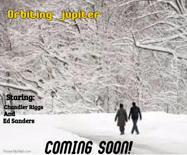 Orbiting Jupiter Poster
