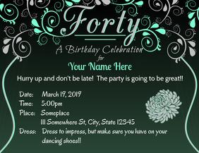 40th Celebration