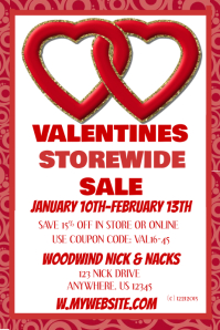 Valentine's Storewide Sales Event Template
