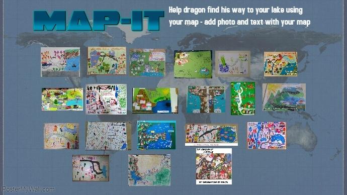 maps Digital Display (16:9) template