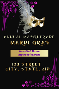 Mardi Gras Event Template