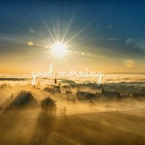 43 Good Morning Instagram Post template