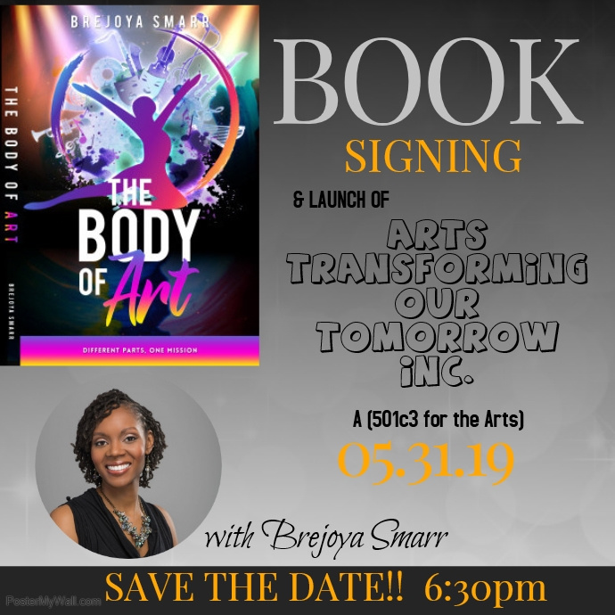 Book Signing2 Instagram Post template