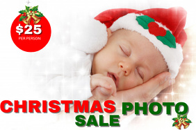Christmas Photo Sales Event Template