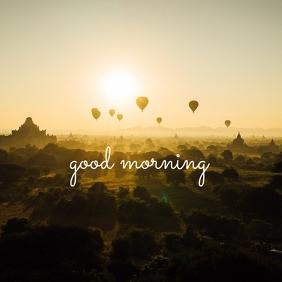 45 Good Morning Instagram Post template