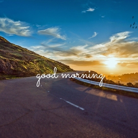 46 Good Morning Instagram Post template
