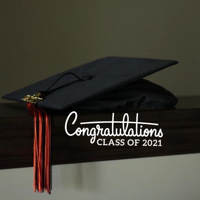 46 Graduation Instagram 帖子 template