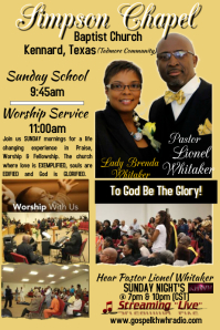 CHURCH TEMPLATE FLYER